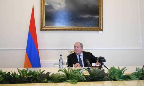 Πρόεδρος Αρμενίας στο CNN Greece: Πρέπει να σταματήσουμε την Τουρκία