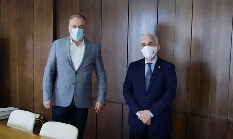 Μνημόνιο Συνεργασίας Ελληνικού Ερυθρού Σταυρού - Υπουργείου Εσωτερικών