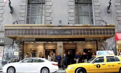 Νέα Υόρκη: Ο κορονοϊός «κλείνει» το ιστορικό ξενοδοχείο «Ρούζβελτ»