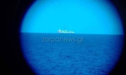 Ελληνοτουρκικά: Πόλεμος «νεύρων» με το Κανουνί - Πλέει στο Αιγαίο συνοδεία πολεμικών πλοίων