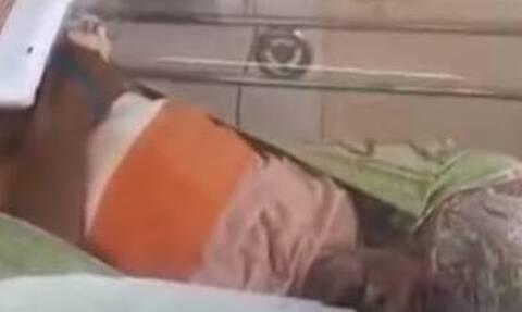 Φρίκη: Έβαλαν τον παππού τους ζωντανό σε καταψύκτη (vid)
