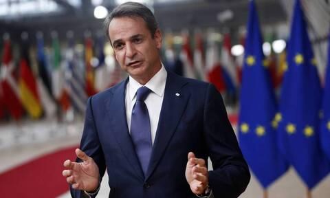 Σύνοδος Κορυφής – Μητσοτάκης: Ζήτησα να τεθεί ευρωπαϊκό εμπάργκο όπλων στην Τουρκία