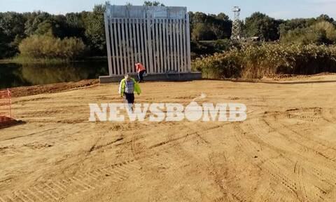 Έβρος: Αυτός είναι ο φράχτης που κατασκευάζεται - Στην επίβλεψη των έργων ο Μητσοτάκης