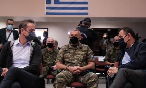 'Εβρος - Μητσοτάκης: Οι Έλληνες κρατάνε πολύ ψηλά το φρόνημα της χώρας σε μια τόσο δύσκολη συγκυρία