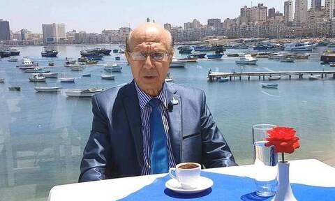 Koρονοϊός: Πέθανε ο πρόεδρος της Ελληνικής Κοινότητας Αλεξανδρείας, Εδμόνδος Κασιμάτης