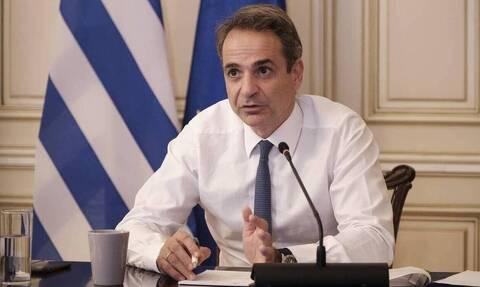 PM Mitsotakis on island of Samothrace