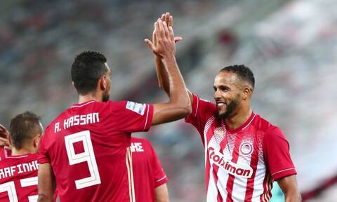 Super League: «Τεσσάρα» με Ελ Αραμπί ο Ολυμπιακός, πρωτοπόρος ο Άρης