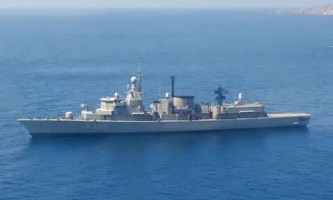 Επιχείρηση «IRINI»: Πλοίο Διοικήσεως η ελληνική φρεγάτα «ΑΔΡΙΑΣ» - Ποιος είναι ο κυβερνήτης της
