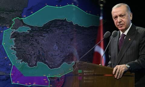 «Χαστούκι» του ΥΠΕΞ στην Τουρκία: Τι απαντά για τον χάρτη-πρόκληση που κόβει το Αιγαίο στη μέση