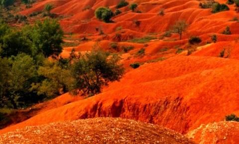 Σε ποια περιοχή της Ελλάδας βρίσκεται αυτό το φαινόμενο της φύσης;