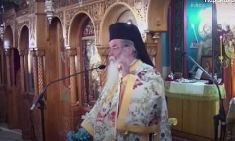 Σάλος στην Κοζάνη: «Ελάτε να κοινωνήσετε από την ίδια λαβίδα», λέει ο Μητροπολίτης (video)