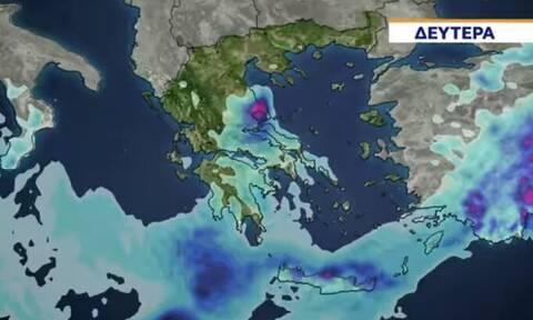 Καιρός: Σύγκρουση αερίων μαζών πάνω απ' την Ελλάδα! Τι θα συμβεί σήμερα;
