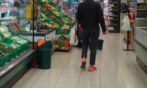 Πτολεμαϊδα: Χαμός σε σούπερ μάρκετ - Φωνές, σπρωξιές και χειροπέδες