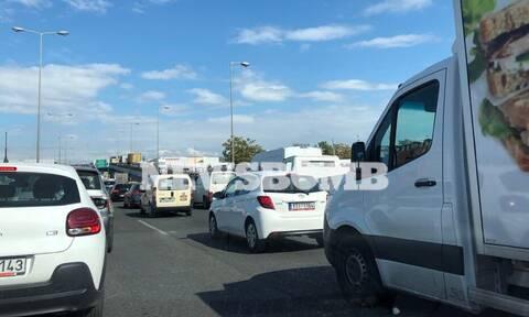 Σοβαρό τροχαίο στον Κηφισό - Τραυματίστηκαν δύο αστυνομικοί της ΔΙΑΣ