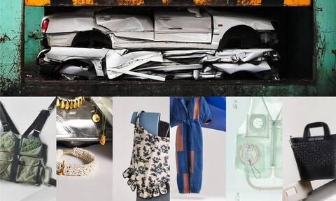 Και όμως! Κυκλοφορούν ρούχα από ανακυκλωμένα εξαρτήματα αυτοκινήτου