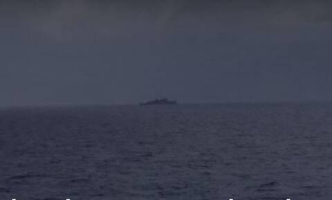 Τουρκικό πλοίο ηλεκτρονικού πολέμου μεταξύ Ρόδου και Καστελόριζου
