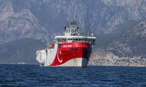 Oruc Reis: Κρίσιμες ώρες! Κινείται πάλι προς Καστελόριζο - Πώς θα απαντήσει η Ελλάδα