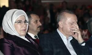 Εμινέ: Ποια είναι η «σκοτεινή» κυρία Ερντογάν - Η μανία με τη χλιδή και τα παιχνίδια με τη μαντίλα