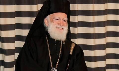 Σταθερά προς το καλύτερο η υγεία του Αρχιεπισκόπου Κρήτης Ειρηναίου