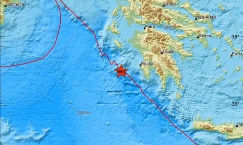 Σεισμός ΤΩΡΑ δυτικά της Πελοποννήσου (pics)