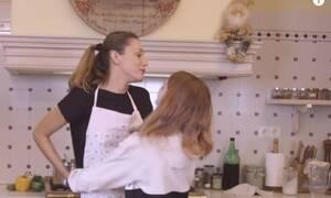Κάτια Ζυγούλη: Δείτε το χάος που επικρατεί στην κουζίνα της