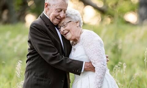 Γιόρτασαν την 60η επέτειο γάμου τους & οι φώτο έγιναν viral