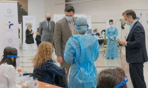 Κορονοϊός- Κικίλιας: Με SMS το αποτέλεσμα των rapid tests στους πολίτες