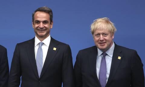 Επικοινωνία Μητσοτάκη - Τζόνσον για πανδημία, εμβόλιο, Brexit και Κυπριακό