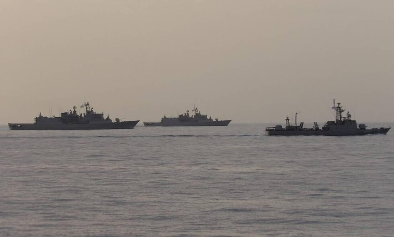 Πολεμικό Ναυτικό: «Ασπίδα» γύρω από το Καστελόριζο - Ναυτικός αποκλεισμός του νησιού από το Στόλο