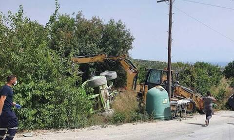 Τραγωδία στην Κύπρο: Νεκρός γεωργός που καταπλακώθηκε από το τρακτέρ του