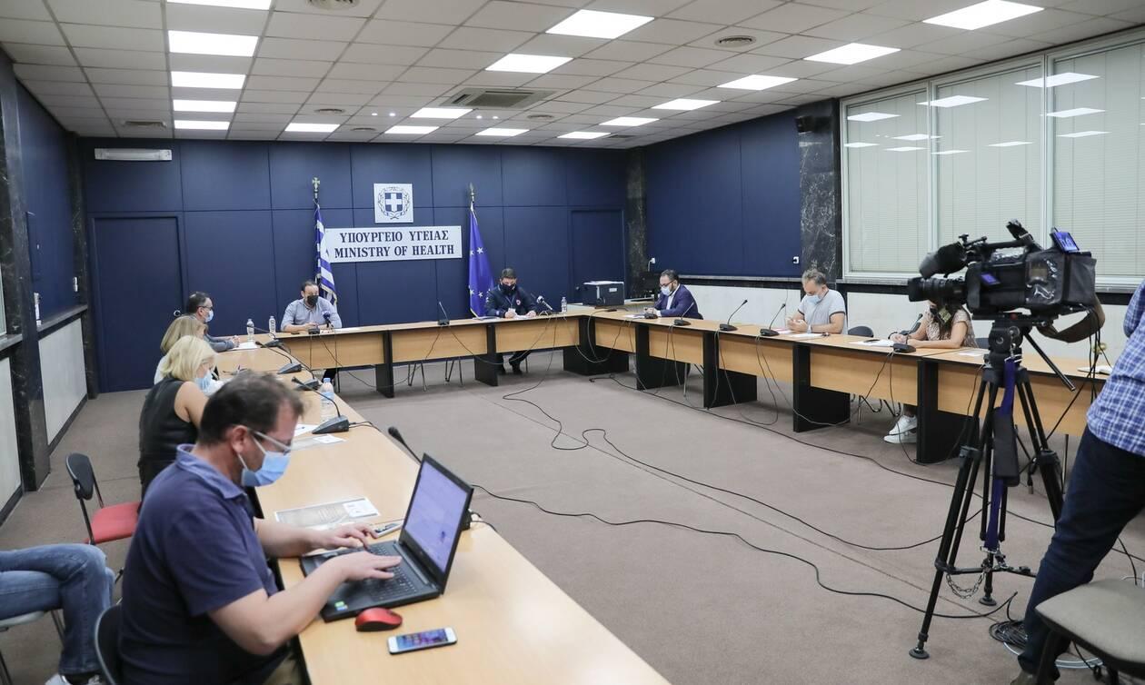 Κορονοϊός: LIVE η ενημέρωση για την πορεία της πανδημίας στη χώρα μας