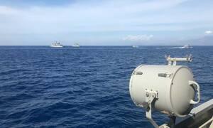 Καστελόριζο: Εικόνες ντοκουμέντο! Με το δάχτυλο στη σκανδάλη οι Ένοπλες Δυνάμεις