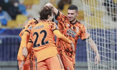 Champions League: Η Γιουβέντους έβαλε το πρώτο γκολ της σεζόν