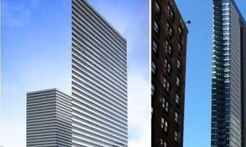 Αυτά τα κτίρια είναι απίστευτα στενά