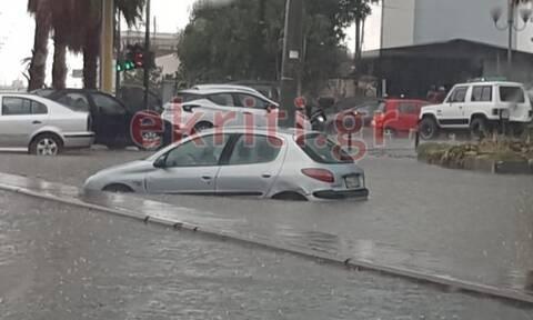 Κακοκαιρία: Kατολισθήσεις, εγκλωβισμοί και πλημμυρισμένα σπίτια στην Κρήτη - Απίστευτες εικόνες