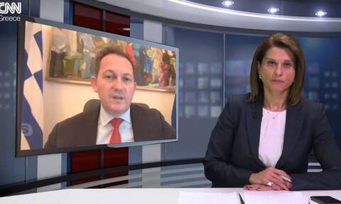 Πέτσας στο CNN Greece: To εμπάργκο όπλων στην «εργαλειοθήκη» της ΕΕ απέναντι στην Τουρκία