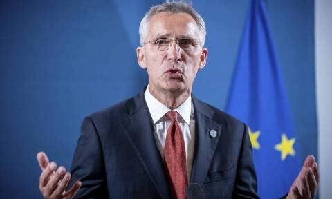 Ελληνοτουρκικά - Στόλτενμπεργκ: Το ΝΑΤΟ ανησυχεί για την ένταση στην Ανατολική Μεσόγειο