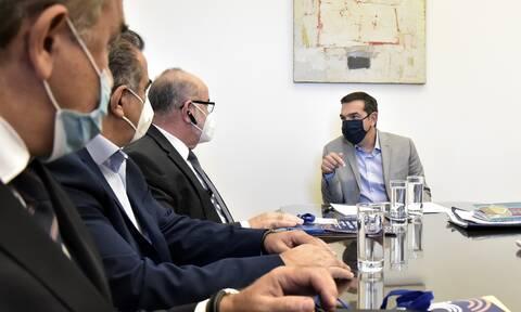Έκτακτα μέτρα για την ενίσχυση της οικονομίας της Κοζάνης ζήτησε ο Τσίπρας