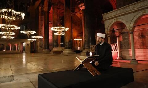 Σάλος: Δείτε τι θέλουν να κάνουν οι Τούρκοι στην Αγιά Σοφιά