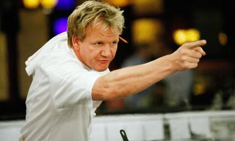 Gordon Ramsay: Ο διάσημος σεφ «βρίζει» τον κόσμο! (vid)