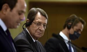 Κοινή Διακήρυξη Κύπρου - Ελλάδας - Αιγύπτου: Καταδίκη των παράνομων ενεργειών της Τουρκίας