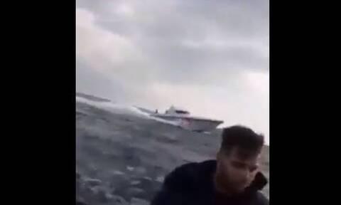 Βίντεο - ντοκουμέντο: Έτσι «σπρώχνουν» οι Τούρκοι τους μετανάστες προς την Ελλάδα