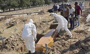 Κορονοϊός στη Βραζιλία: 24.818 κρούσματα και 566 θάνατοι από COVID-19 σε 24 ώρες