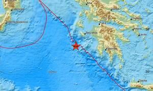 Σεισμός ΤΩΡΑ κοντά στη Ζάκυνθο - Αισθητός σε πολλές περιοχές (pics)