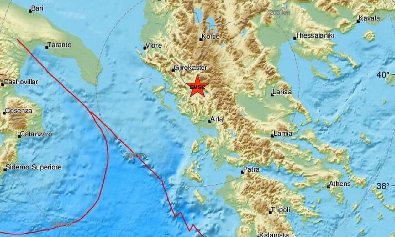 Σεισμός ΤΩΡΑ κοντά στα Ιωάννινα (pics)
