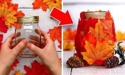 Κατασκευές με φύλλα δέντρων για να διακοσμήσετε το σπίτι