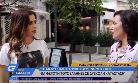 Όλγα Κεφαλογιάννη: Ο Μεγάλος Περίπατος δεν λειτούργησε