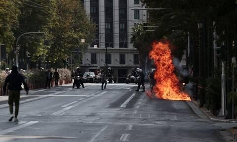 Μαθητικό συλλαλητήριο: Σοβαρά επεισόδια - Κανονικά η κυκλοφορία στο κέντρο