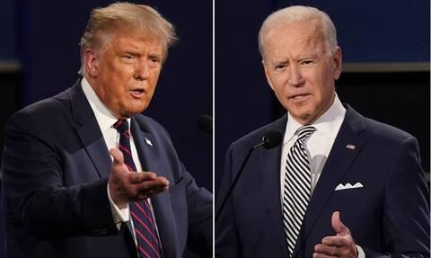 Εκλογές ΗΠΑ 2020: Τραμπ και Μπάιντεν «διασταυρώνουν τα ξίφη» τους - Oι νέοι κανόνες του debate