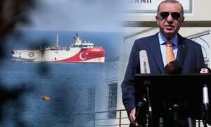 Oruc Reis: Το σχέδιο του Ερντογάν με τις NAVTEX - Τώρα θέλει να «εξαφανίσει» και την Κρήτη